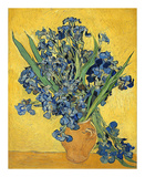 Irises, 1890 Poster von Vincent van Gogh