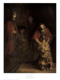 The Return of the Prodigal Son Posters by Harmensz van Rijn Rembrandt