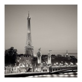 Pont Alexandre Trios Poster by Alan Blaustein