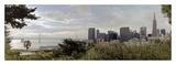 SF Skyline Pano 109 Prints by Alan Blaustein