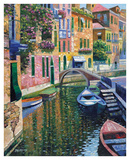 Romantic Canal Prints by Howard Behrens