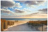 Sunset Beach Poster by Daniel Pollera