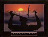 Possibilities – Surfer Poster von  Unknown