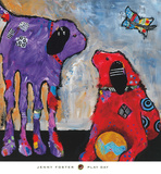 Play Day Kunstdrucke von Jenny Foster