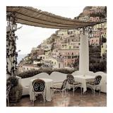 Positano Caffe 1 Prints by Alan Blaustein