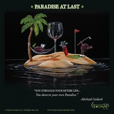 Paradise At Last Poster by Michael Godard