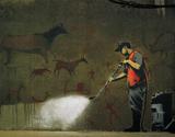 Powerwash Art by  Banksy