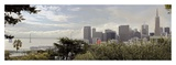 SF Skyline Pano 110 Poster by Alan Blaustein