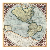 Terra Major I Prints by Gerardus Mercator