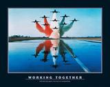 Samenwerken, Engels Poster van Unknown,