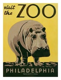 Visit the Zoo Prints by  Unknown
