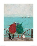 We Saw Three Ships Come Sailing By Poster von Sam Toft