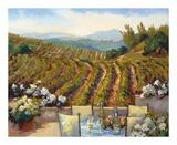 Vineyards to Mount St. Helena Prints by Ellie Freudenstein