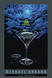Zen Martini Print by Michael Godard