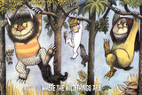 Where the Wild Things Are - Hanging from Trees Prints by Maurice Sendak