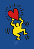 Keith Haring - Untitled, 1987 Reprodukce