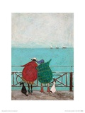 We Saw Three Ships Come Sailing By Kunst af Sam Toft