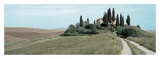 Val d'Orcia Pano 4 Prints by Alan Blaustein