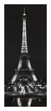 Tour Eiffel la Nuit Posters by Alan Blaustein