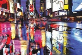 Times Square - Colors Print by  Unknown