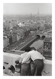 View from the Towers of Notre Dame Poster by Henri Cartier-Bresson