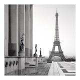 Tour Eiffel 5 Print by Alan Blaustein
