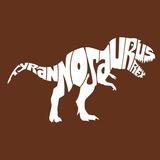 Tyrannosaurus Rex Prints by  L.A. Pop Art