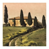 Tuscan Farmhouse Prints by Elizabeth Carmel