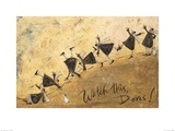 Watch This, Doris! Posters by Sam Toft
