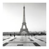 Tour Eiffel 4 Posters by Alan Blaustein