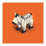 Zebra Poster by Bo Virkelyst Jensen