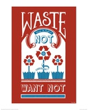 Waste Not Want Not Prints by Mary Fellows