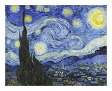 Starry Night Poster by Vincent van Gogh