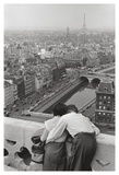 View from the Towers of Notre Dame Print by Henri Cartier-Bresson