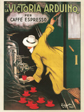 Reclameposter koffie Victoria Arduino, 1922, Italiaanse tekst Kunst van Leonetto Cappiello