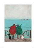We Saw Three Ships Come Sailing By Prints by Sam Toft