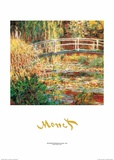 The Water Lily Pond Art by Claude Monet