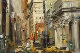 Union Square NY Art by Marilyn Hageman