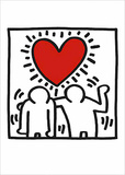 Invitación de boda Arte por Keith Haring