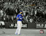 Jose Bautista three-run Home Run Game 5 of the 2015 American League Division Series Spotlight Photo