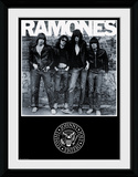 Ramones Album Wydruk kolekcjonerski