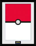 Pokemon Pokeball Collector Print