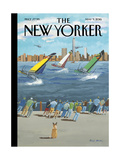 The New Yorker Cover - May 9, 2016 Regular Giclee Print by Bruce McCall