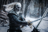 Game Of Thrones- White Walker Print