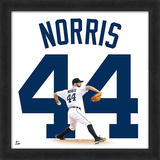 Daniel Norris, Tigers - Framed photographic representation of the player's jersey Framed Memorabilia