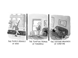 Captionless - New Yorker Cartoon Premium Giclee Print by Tom Toro