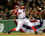 Dustin Pedroia 2016 Action Photo