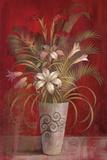 Tropical Elegance I Print by Richard Lane