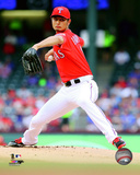 Yu Darvish 2014 Action Photo