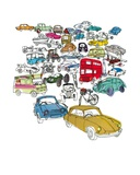 Vehicle Jam Posters by Hannah Pontin